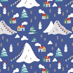 Wintertime Joy-Mountains