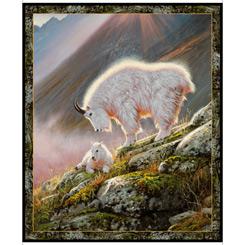 QT Mountain Goats Panel 28437-X