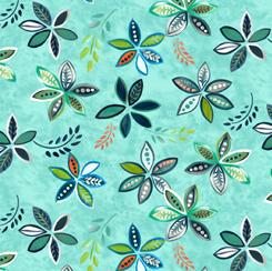 28500-Q Enchanted Garden PEACEFUL FLOWERS Q