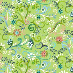 28501-H Enchanted Garden GARDEN SWIRL H