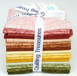 Quilting Treasures Harmony Cotton Warmer Fat Quarter Bundle