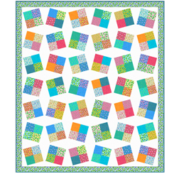 BLISS QUILT KIT BY QT FABRICS