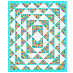 Bliss Queen Quilt Kit 75 x 89