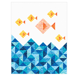 Little Fishies Quilt Kit