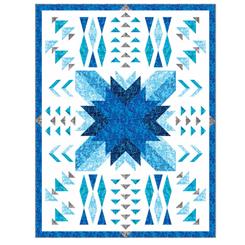 Ombre Squares KIT ONWARD QUILT KIT by QT Fabrics 3851G *