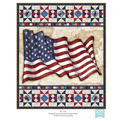 ALL AMERICAN OLD GLORY QUILT