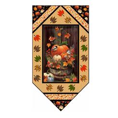 Harvest Elegance KIT PT1780 (36 x 68) - Quilting Treasures