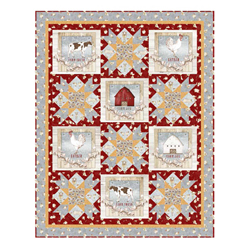 Farm Life Quilt Kit (44 x 56) (Pine Tree Country Quilts)
