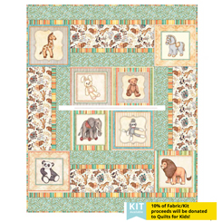 Toyland Panel Quilt free download