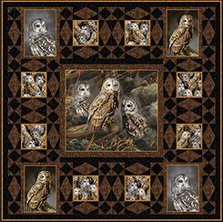 Barred Owls Pattern PT1685