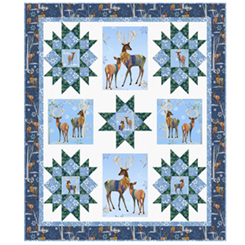 Winter Stars Pattern - Pine Tree Country Quilts - PT1733