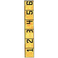 6 Foot Ruler Quilt Pattern
