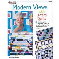 Pattern Book Modern Views 3 Yard Quilts