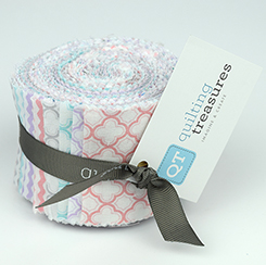 SORBET COTTON CANDY STRIPS 2.5 inch (20 Pieces) - Quilting Treasures Fabrics