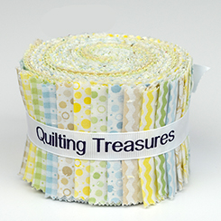 Quilting Treasures Sorbets Strips Key Lime