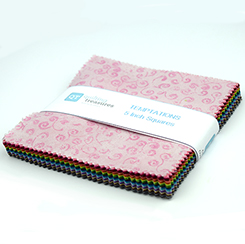 Quilting Temptations 5 Inch Squares All 50 Colors TEMNEW