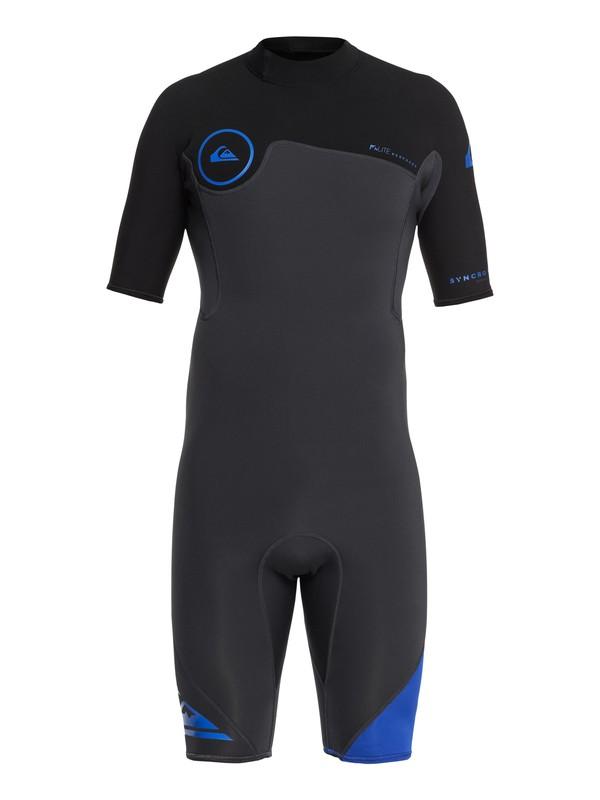Quiksilver 2/2 Syncro Series Men's Neoprene Shorty Wetsuit