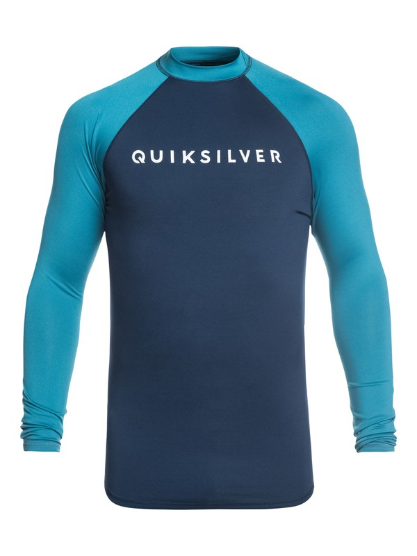 Quiksilver Always There Rash Guard Mens Top