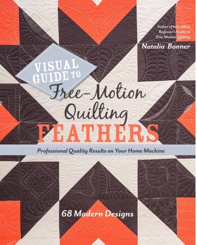 Visual Guide to Free Motion Feathers (Natalia Bonner)