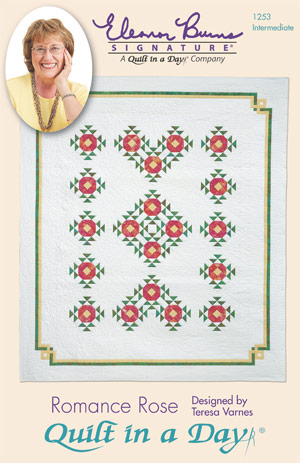 Romance Rose: Eleanor Burns Signature Quilt 735272012535 73527201253...