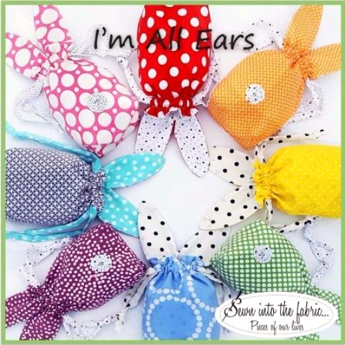 I'm All Ears Pattern by Rana Heredia 047393785121 - Quilt in a Day Patterns