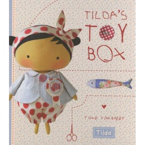 Tilda's Toy Box Book by Tone Finnanger