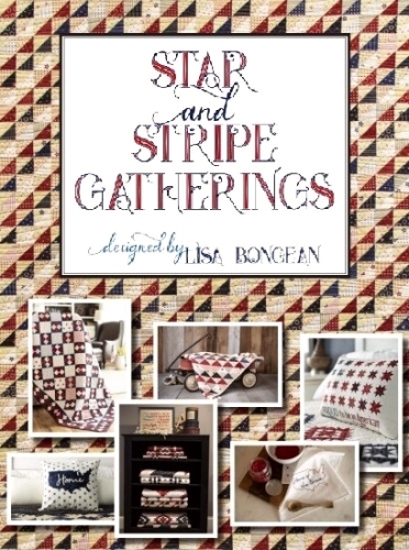 Star And Stripe Gatherings by Lisa Bongean - Primitive Gatherings