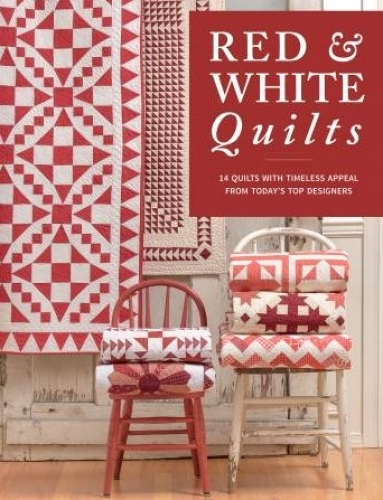Red & White Quilts Book by Martingale 9781604689624 - Quilt in a Day Patterns