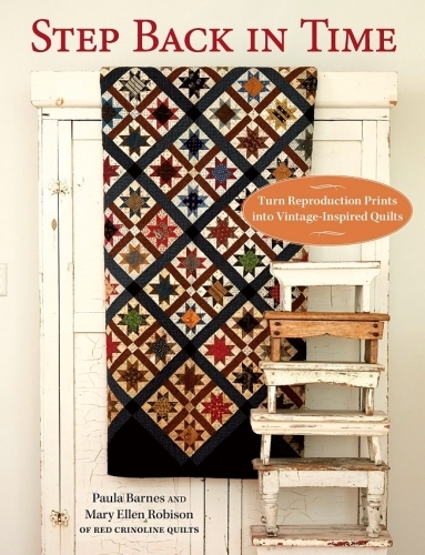 Step Back In Time Book by Mary Ellen Robinson & Paula Barnes