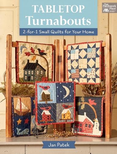 Tabletop Turnabouts Book by Jan Patek