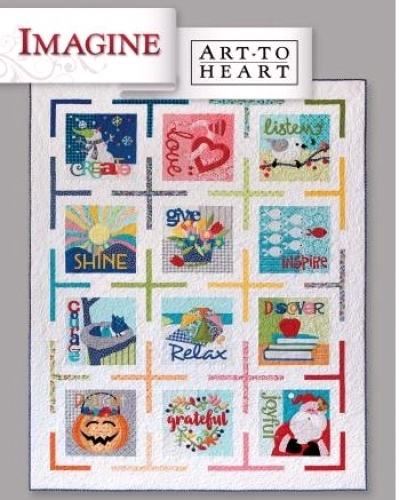 Art to Heart - Imagine 632552005525 - Quilt in a Day Patterns