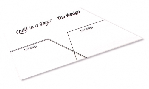 The Wedge Ruler by Quilt in a Day 735272020349 Rulers & Templates