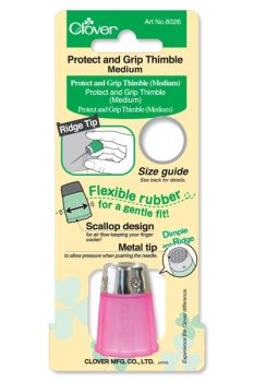 Clover Protect and Grip Thimble (Medium)