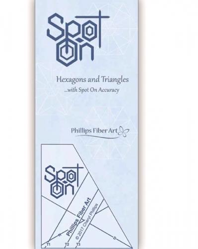 Cheryl Phillips Spot On Tool - Phillips Fiber Art 761158011408 Rulers & Templates
