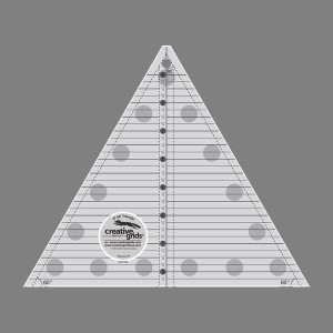 60 Degree Triangle/8 inch Finished Size Ruler by Creative Grids