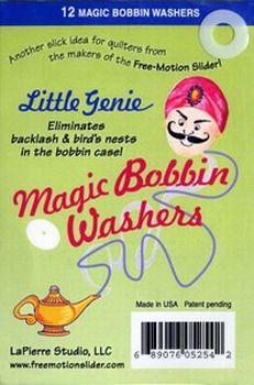 Little Genie Magic Bobbin Washers - 689076052542 Quilting Notions
