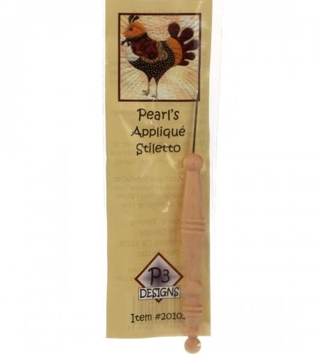 P3 Designs: Pearl's Applique Stiletto