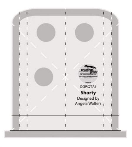 SHORTY RULER by Angela Walters CGRQTA1 Creative Grids
