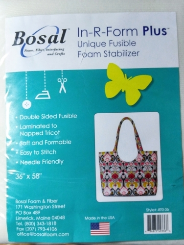 Bosal - In-R-Form Plus Double Sided Fusible Foam Stabilizer 36x58 834875493366 F...