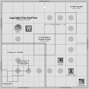 Log Cabin Trim Tool Two CGRJAW2 by Creative Grid