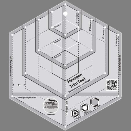 HEXAGON TRIM TOOL CGRJAW4 by Creative Grids