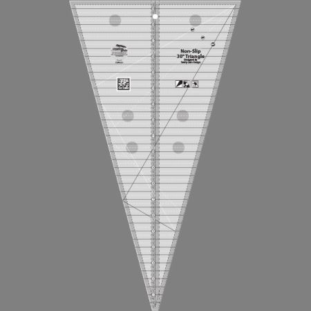 Creative Grids - 30 Degree Triangle Ruler CGRSG1