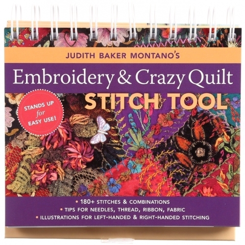 Embroidery & Crazy Quilt Stitch Tool by Judith Baker Montano - 9781571205339 Qui...