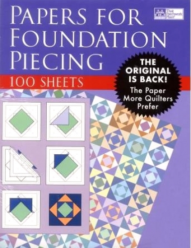 Foundation Piecing Paper That Patchwork Place - 9781564772541 Quilting Notions