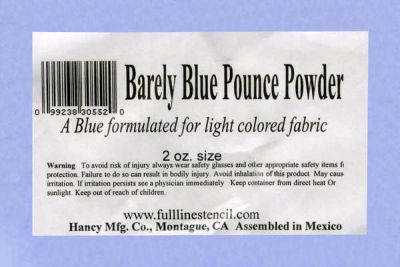 Barely Blue Pounce Powder Refill