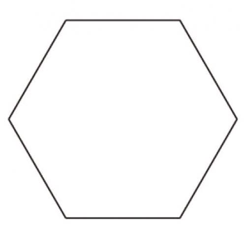 Template Sue Daley Hexagon 2in