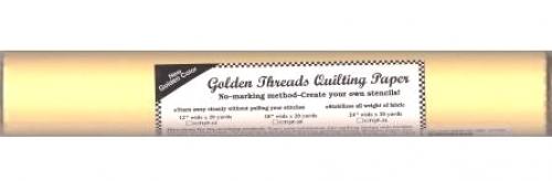 Golden Threads Quilting Paper 12in x 20 yds