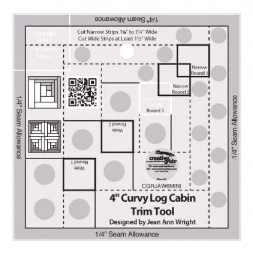 Ruler-CG Curvy Log Cabin Trim 4