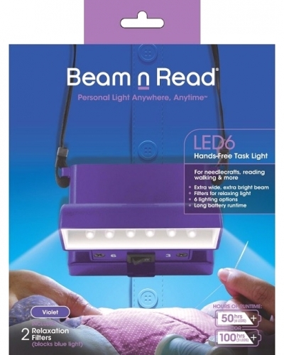Hands-Free Task Light / Violet (Beam n Read)