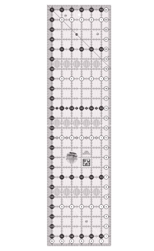 Creative Grids Quilting Ruler 6.5in x 24.5in CGR24 743285000098 Rulers & Templat...